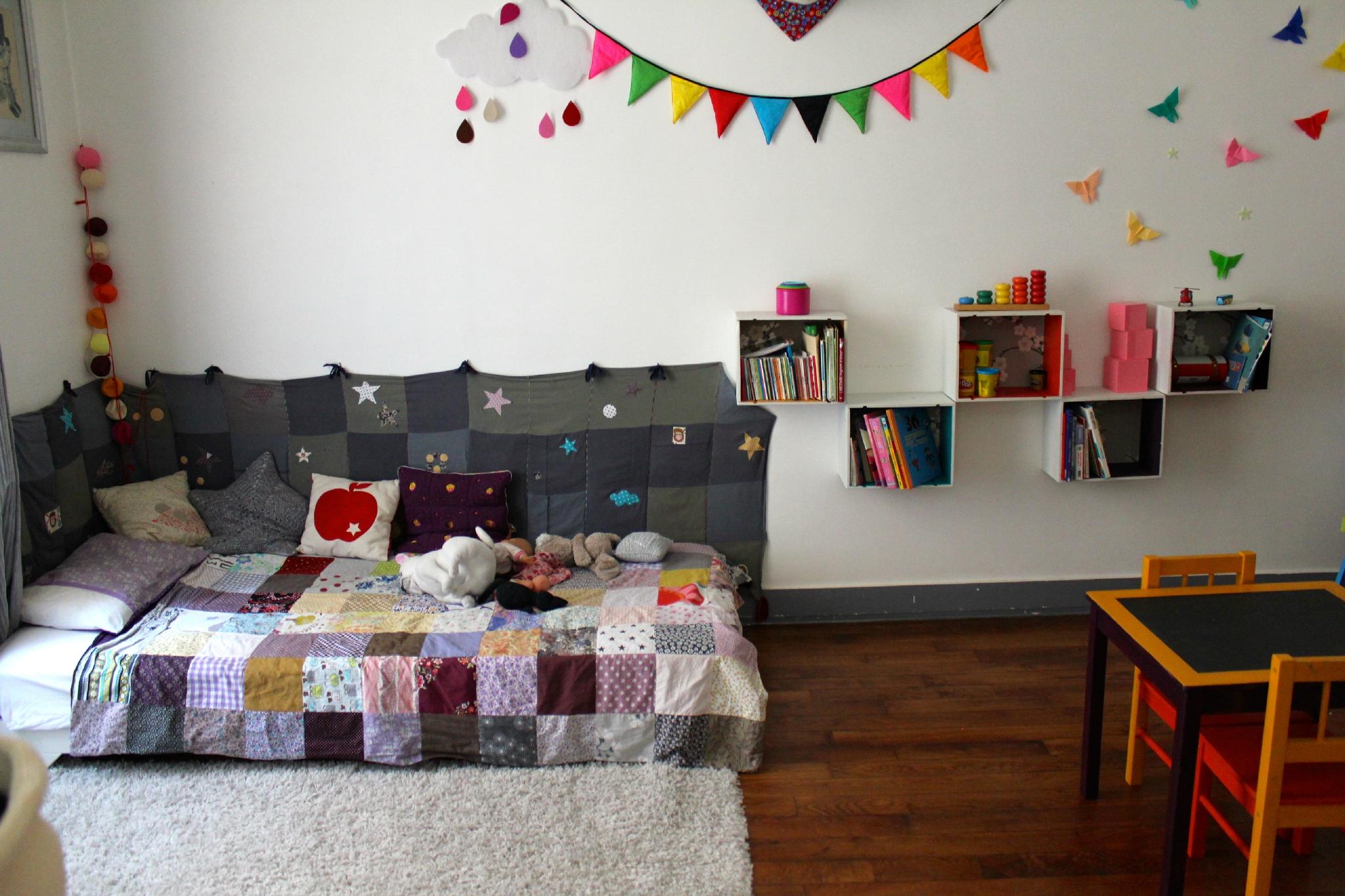 Chambre Matelas Au Sol aménager une chambre d'enfant dans l'esprit « montessori